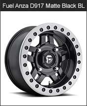 Fuel Anza D917 Black Beadlock