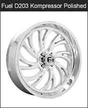Fuel kompressor D203 Polished Wheels