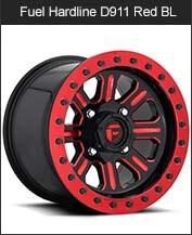 Fuel Hardline D911 Black Red BL