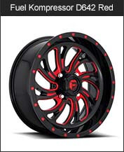 Fuel kompressor D642 Black Red