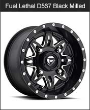 Fuel Lethal D567 Black Milled