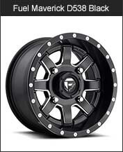 Fuel Maverick D538 Black Milled