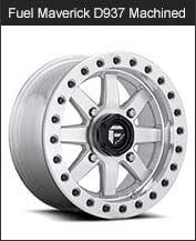 Fuel Maverick D937 Machined BL