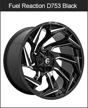 Fuel Reaction D753 Gloss Black Milled