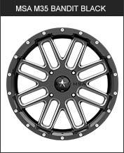 MSA M35 Bandit Black
