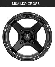 MSA M39 Cross Black
