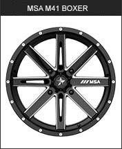 MSA M41 Boxer Black