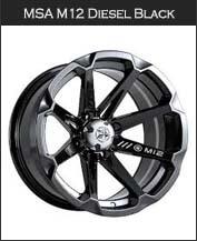MSA M12 Diesel Black