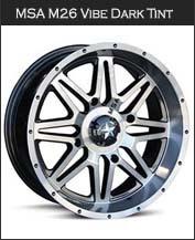 MSA M26 Vibe Dark Tint Wheels