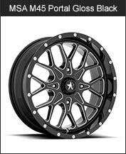 MSA M45 Portal Gloss Black Milled