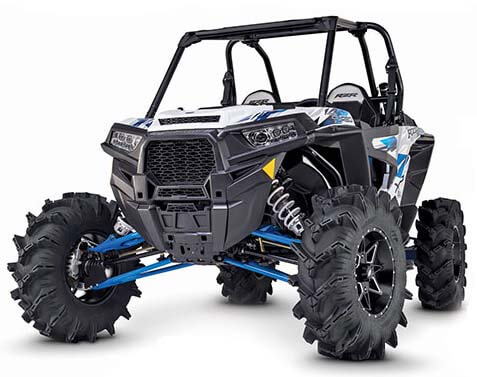 ITP Cryptid tires on Polaris Rzr