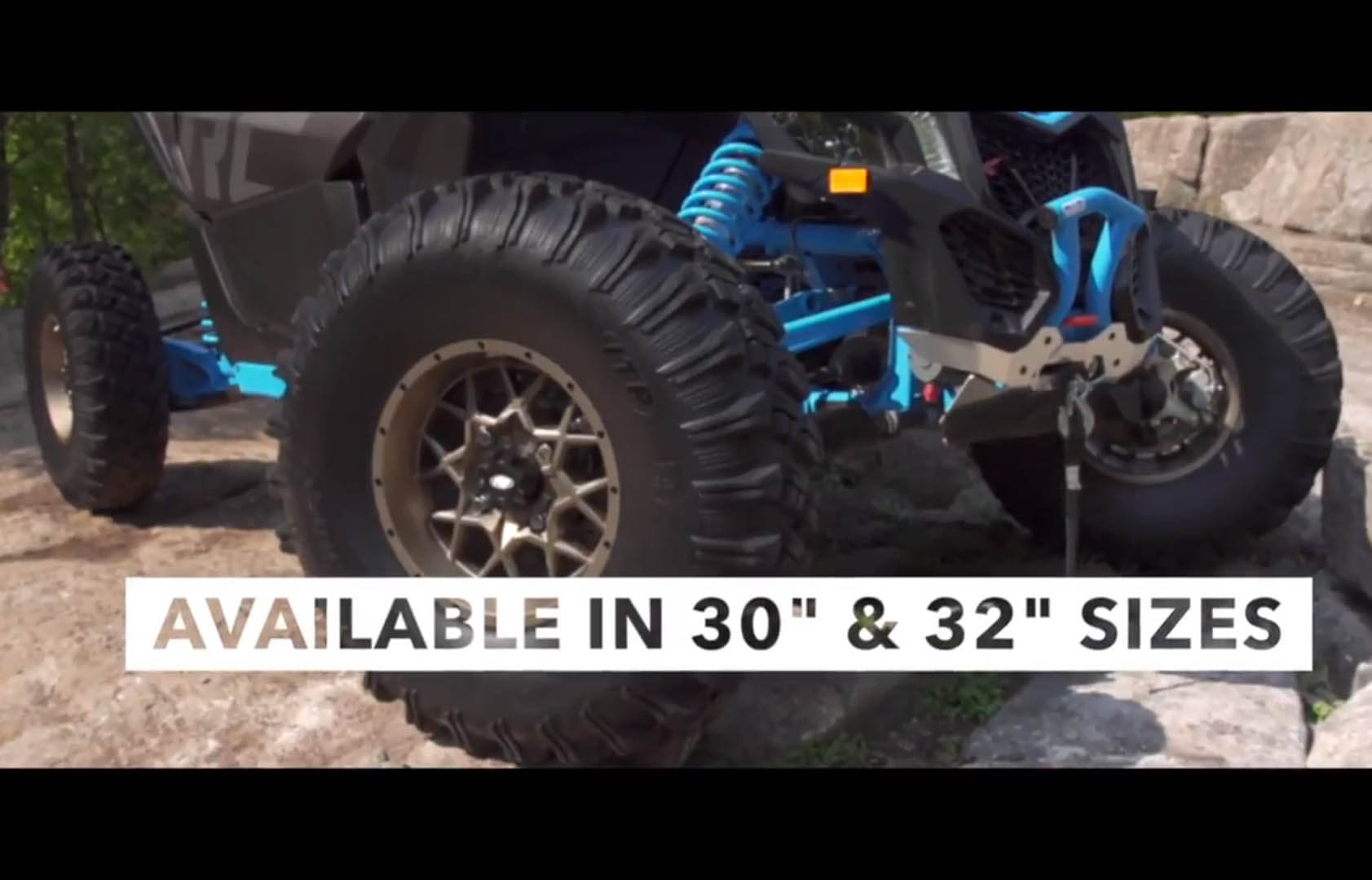 Versa Cross tire is specifically designed for high horsepower UTV and SxS vehicles and compliant with DOT standards.