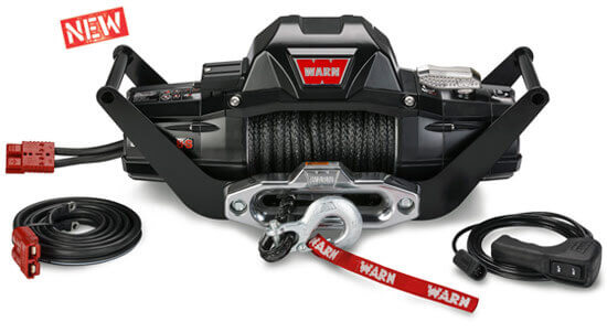 Portable winch system for trucks, Jeeps and SUVs.